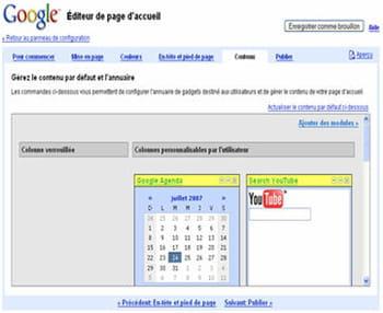 google page creator