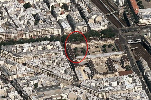 7e ex aequo : Lycée Chaptal (Paris), 8184€ le m²