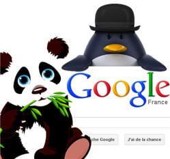 google penguin et google panda