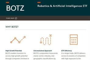 Botz, le produit financier qui mise tout sur l'IA et la robotique