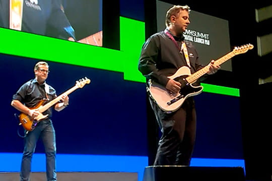 OVH Summit : Octave Klaba et Laurent Allard en duo à la guitare (la vidéo)