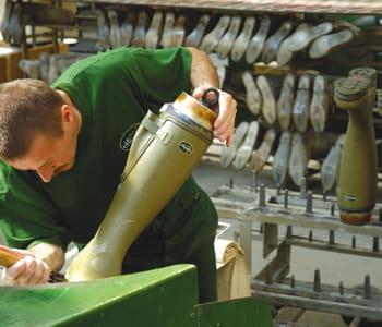un quart de la production est encore réalisé en normandie.