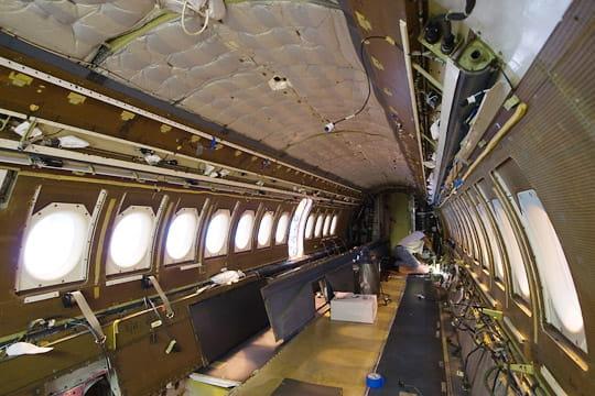 Dassault Falcon Service : carcasse de Falcon 900