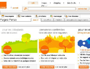 orange personal pages