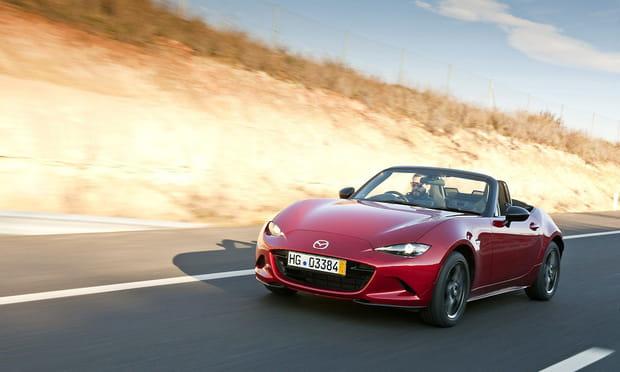 La Mazda MX-5, neuve à partir de 25 000 euros