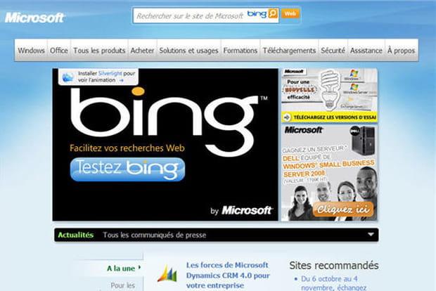 Microsoft en 2009