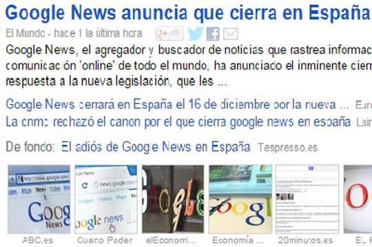Fermeture de Google News en Espagne : les éditeurs se rétractent