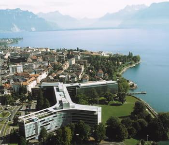 le siège de nestlé, en suisse