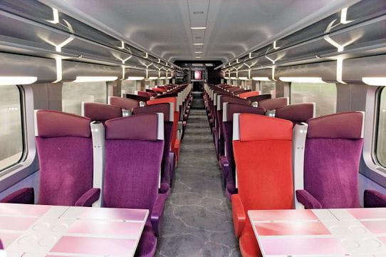 Christian Lacroix redessine le TGV