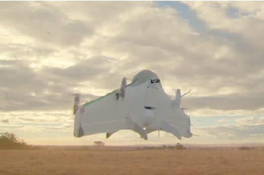 """Google dévoile son projet de livraison par drone : """"Project Wings"""""""