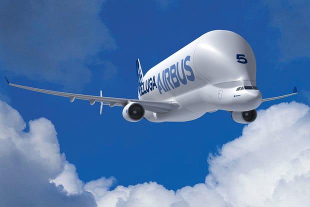 L'avion singulier du groupe Airbus