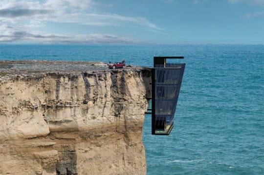 Une maison terrifiante imaginée en Australie
