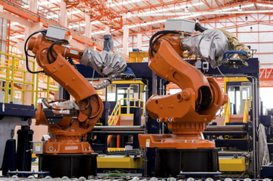 Robots industriels en France