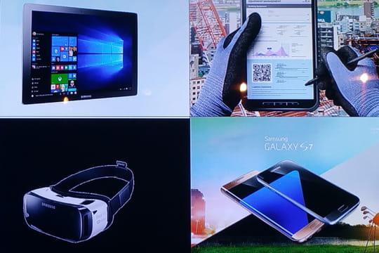 Mobilité : 4 nouveautés de Samsung pour les pros