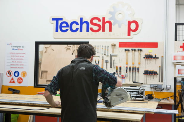 Reportage au nouveau TechShop Leroy Merlin