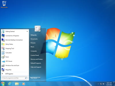 capture de windows 7.