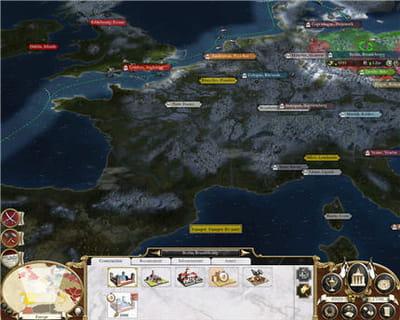la carte d'europe en mode stratégique