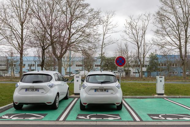 Des voitures électriques pour se déplacer d'un data center à l'autre