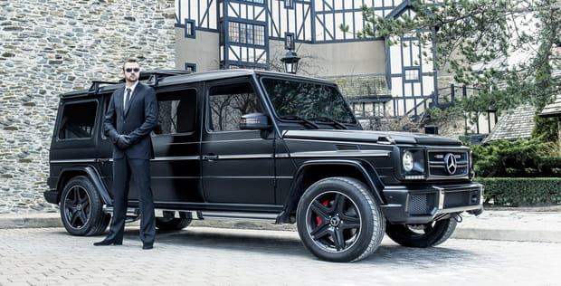 La Mercedes-Benz G63 AMG, une limousine intimidante