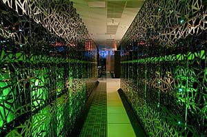 dans le cadre de la simulation deus, 150 po de données ont été produites par le