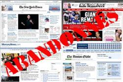 google a arrêté son programme de gestion de publicités pour les journaux
