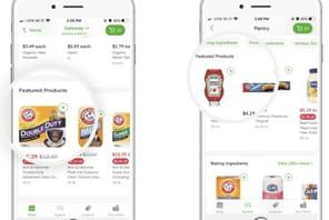 Instacart: de la livraison de courses… à celle de publicités