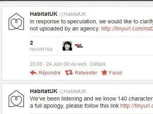 habitat, un cas d'école d'erreur marketing sur twitter.