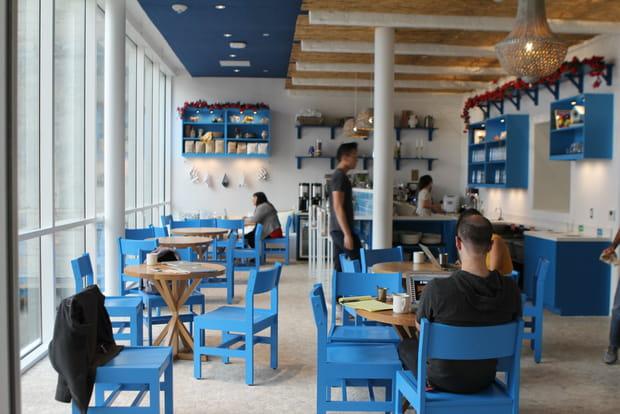Temps de loisir dans un bar grec