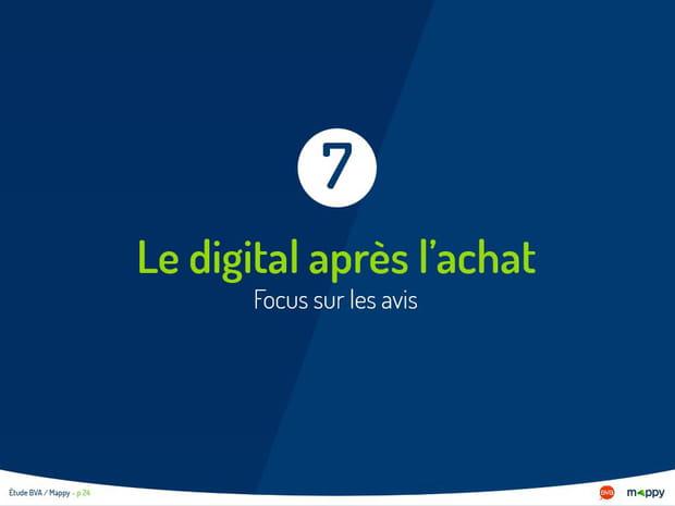 Le digital après l'achat : focus sur les avis