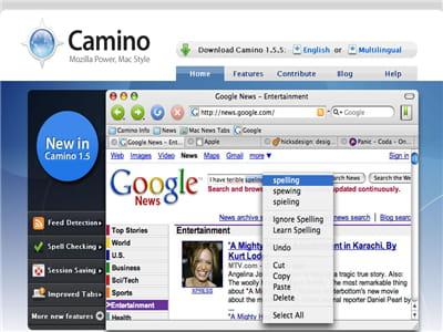 un navigateur dédié au mac