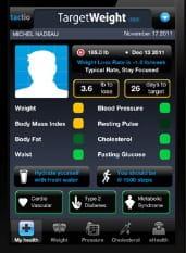 l'appli mobile tactiosanté