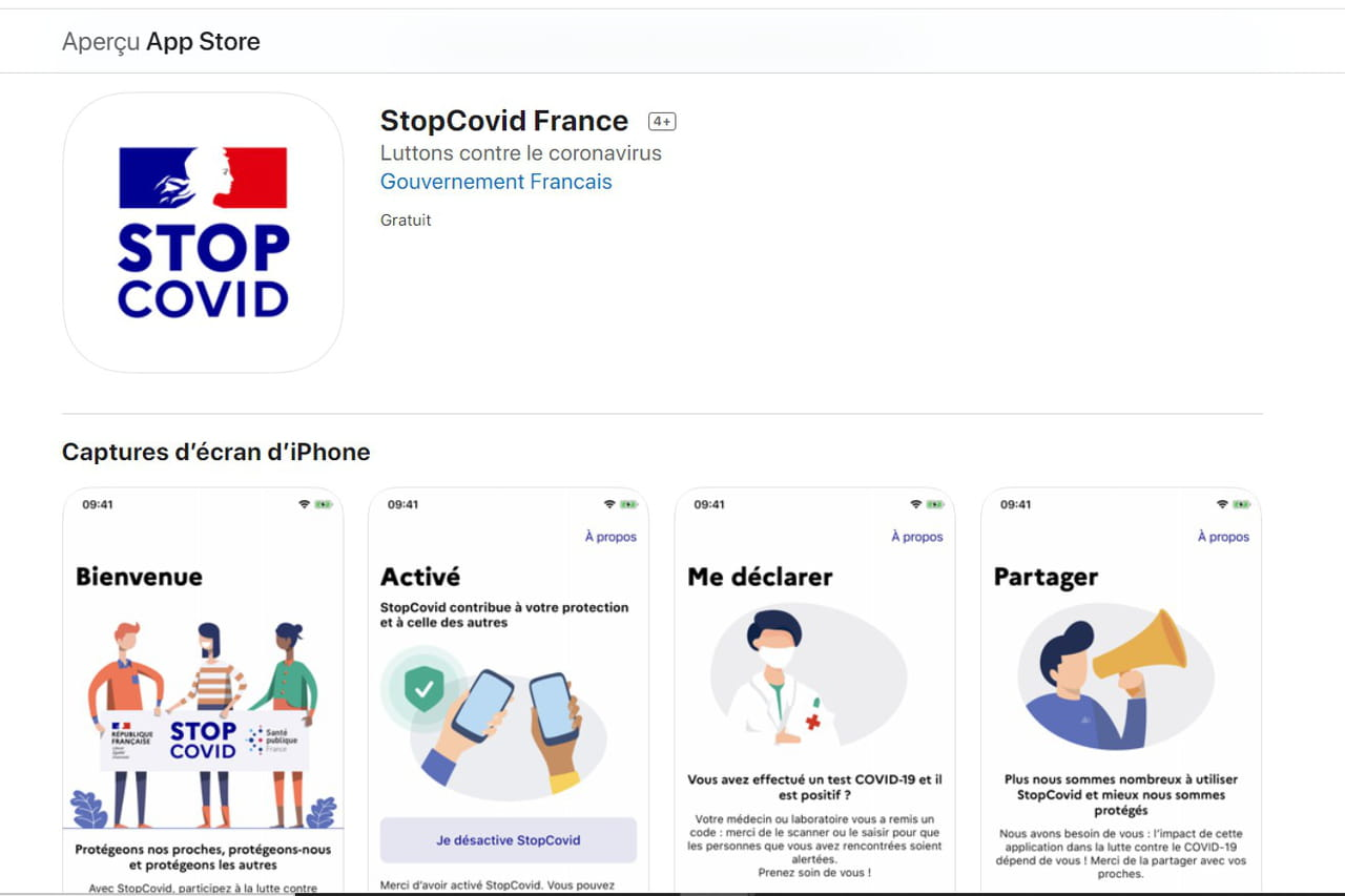 StopCovid: l'application est enfin disponible sur iOS et Android