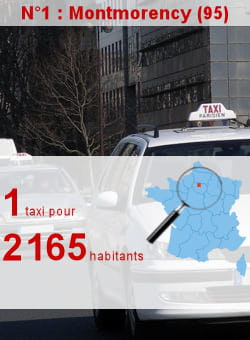 l'insee recense 10 artisans taxis à montmorency.