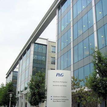 le siège de p&g france, à asnières.