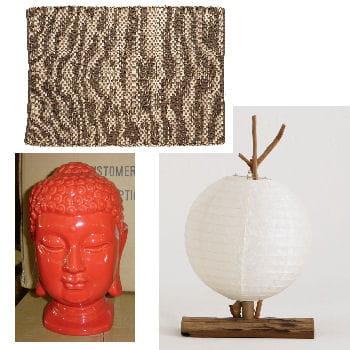 le bureau décoré d'objets venus des quatre coins du monde, l'amateur d'exotisme