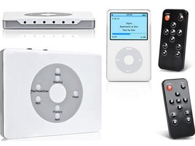 on enregistre directement sur son ipod des cassettes vidéo, la télé, ce que film