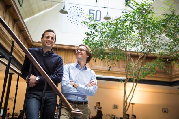 Charles Fourault et Jérôme Masurel