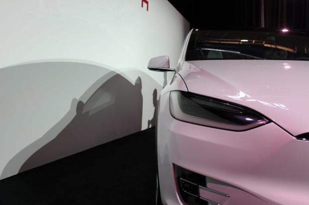 La Model X impressionne