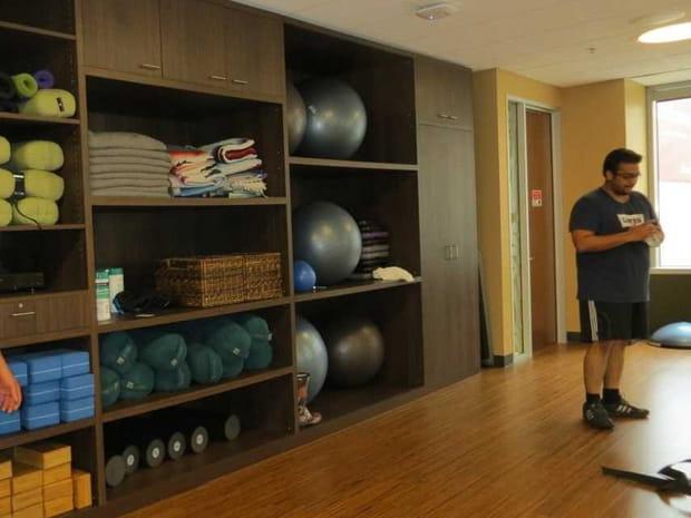 Un atelier de yoga