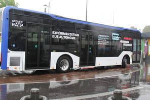 A bord du premier bus autonome testé en France