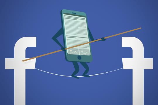 Les médias français condamnés à jouer les équilibristes sur Facebook
