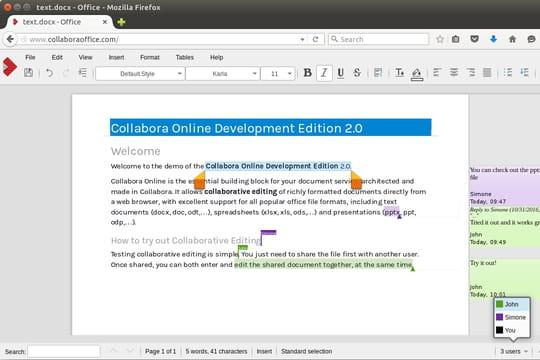 Libreoffice arrive enfin en mode cloud - Open office derniere version ...