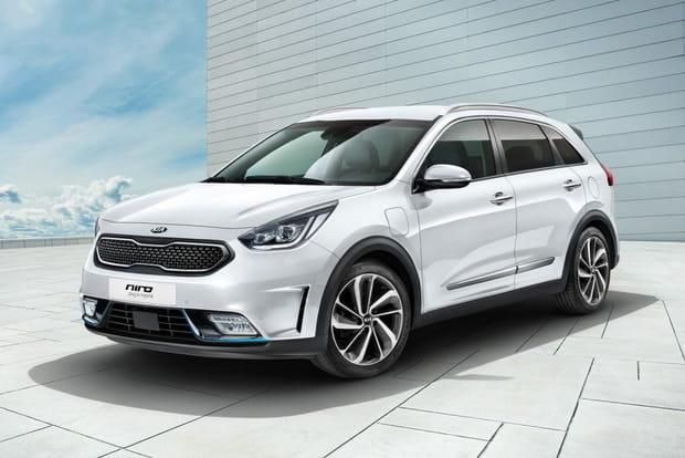Kia Niro Hybride Rechargeable: sous les 30g de CO2/ km