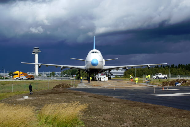 Reconversion réussie pour ce Boeing 747