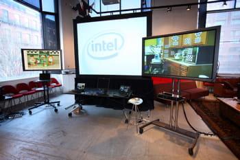 laboratoire de démonstration d'intel en 2009.
