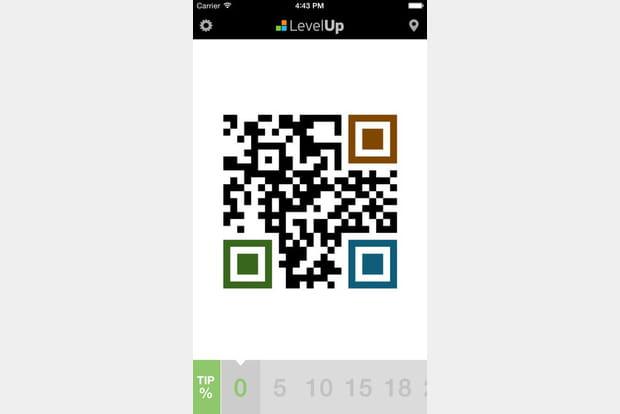 LevelUp vous permet de payer vos repas avec votre téléphone