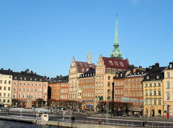 une vue de stockholm.
