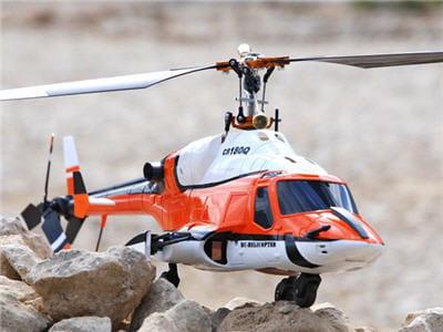hélicoptère de pro