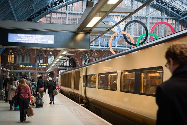 JO de Londres 2012 : Eurostar transporteur officiel