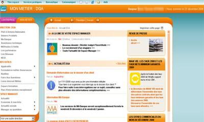 accès profilé au site intranet métier assurance de la maaf